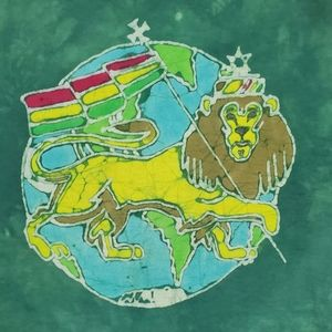 """The Lion King"" Africa Flag Graphic Tye Dye Shirt"